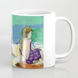 Esmeralda & Brood (Saw Sea Art Series) Coffee Mug