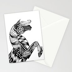 Horse Patterns Stationery Cards