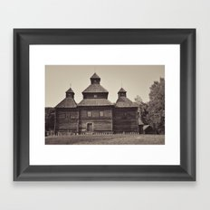Russian Church Framed Art Print