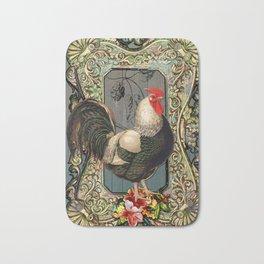 Provencal cock Bath Mat