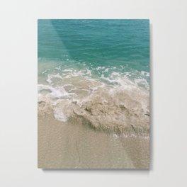 Shore Break Metal Print
