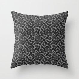 odrina (black) Throw Pillow