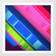Vis-2 Art Print