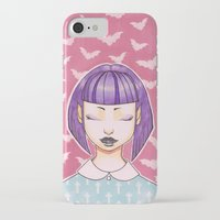 pastel goth iPhone & iPod Cases featuring Pastel Goth by IMEON2