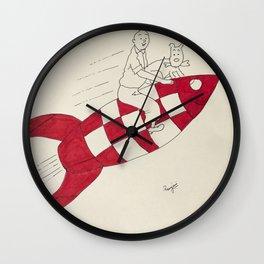 Tintin and Snowy Wall Clock