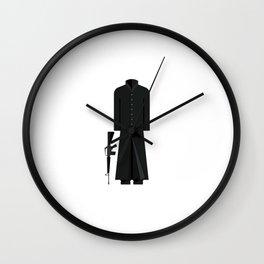 The Matix Outfit Minimal Sticker Wall Clock