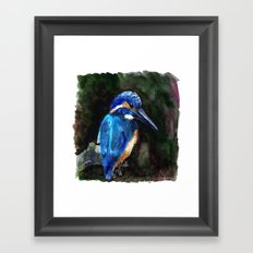 King of the fishers Framed Art Print