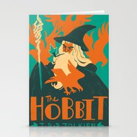 the hobbit Stationery Cards featuring The Hobbit by Greg Wright
