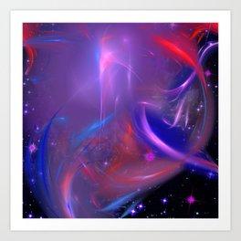 Cosmic Twister Art Print