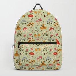 Mushrooms and Wildflowers Backpack
