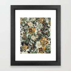RPE FLORAL Framed Art Print