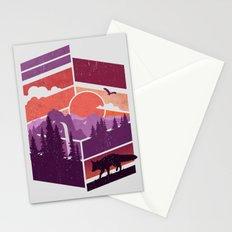 Vanishing Points Stationery Cards