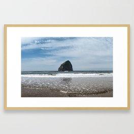 Pacific Haystack Framed Art Print