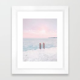 Lake Michigan Sunrise, Chicago Framed Art Print