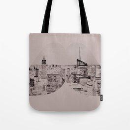 nyc skystache Tote Bag
