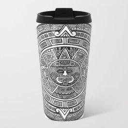Aztec Roots Metal Travel Mug