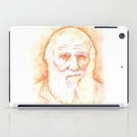 darwin iPad Cases featuring CHARLES DARWIN by willeyworks