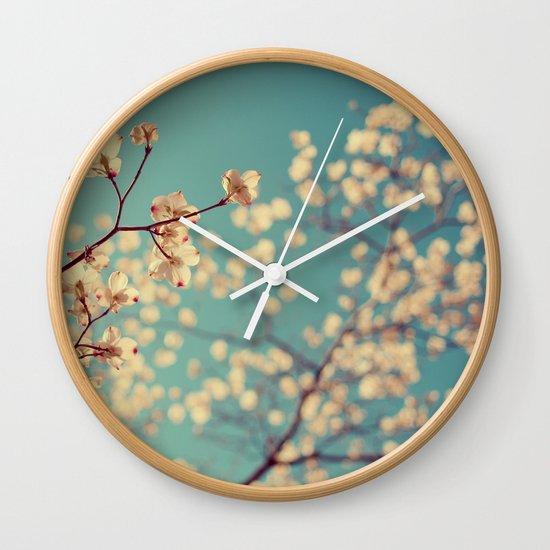 Tuesday Blues Wall Clock