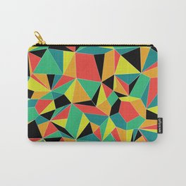 Faceted Kaleidescope Carry-All Pouch