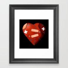 Love Won't Die Framed Art Print
