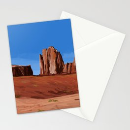 Desert Landscape Stationery Cards