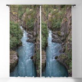 Alaska River Canyon - I Blackout Curtain