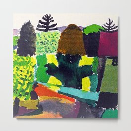 Paul Klee The Park Metal Print