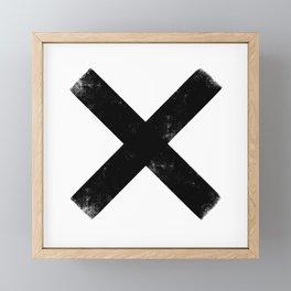 Exes Framed Mini Art Print