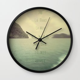 La Maro Wall Clock