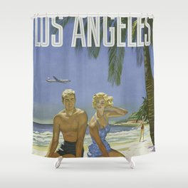 Summer Couple Shower Curtain