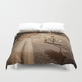 Exhausting Pipe Flowers Duvet Cover