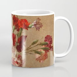 Henri Fantin Latour - Carnations Without Vase Coffee Mug