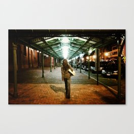 I Shall Not Walk Alone Canvas Print