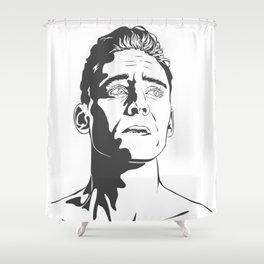 Tom Hiddleston as Coriolanus Shower Curtain