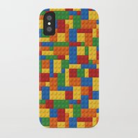 gta iPhone & iPod Cases featuring Lego bricks by eARTh