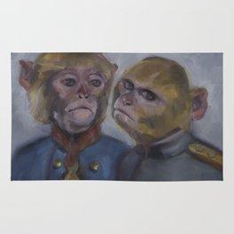 Monkey brothers Rug