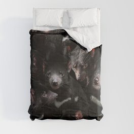 Tasmanian Devils Comforters