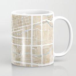 Boulder Colorado Watercolor Map Coffee Mug