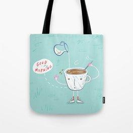 Coffee Buzz Tote Bag