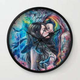 Colorful Me Wall Clock