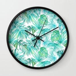 junge leaves Wall Clock