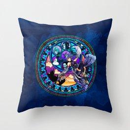 Aqua's Awakening Throw Pillow
