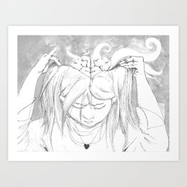 Minervan Birth Art Print