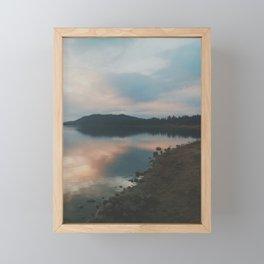 Big Bear Lake, CA Framed Mini Art Print