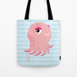 Squid of Love Tote Bag