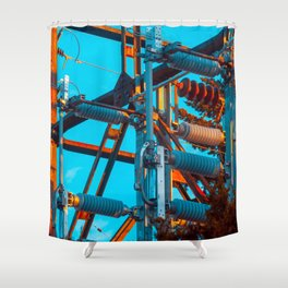 Now you have the Power Shower Curtain