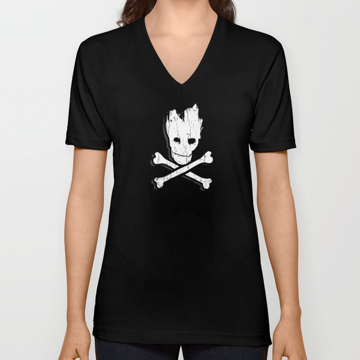 Groot & Bones Unisex V-Neck