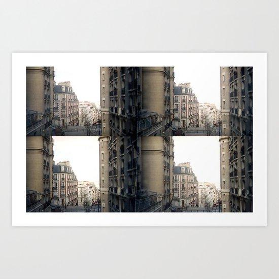 Around Montmartre Art Print