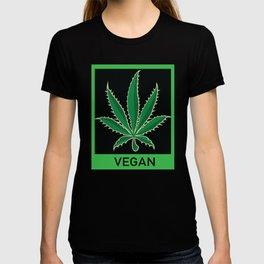Vegan Marijuana Leaf T-shirt