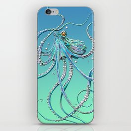 Drunk Octopus iPhone Skin